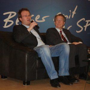 Folke große Deters und Franz Müntefering 2010